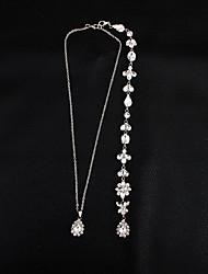 abordables -Chaîne de Corps - Femme Blanc Classique / Elégant / Doux Bijoux de Corps Pour Mariage / Soirée