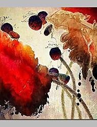 Недорогие -растянутые холсты отпечатки comtemporary, одна панель холст квадратная печать декорация дома домашнее украшение