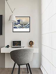 baratos -Estampado Laminado Impressão De Canvas - Paisagem Náutico Modern