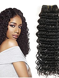 cheap -Indian Hair Wavy Human Hair Extensions 3 Bundles Human Hair Weaves Extention / Hot Sale Natural Black Human Hair Extensions All