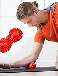 """baratos -Bolas de Massagem Com 6"""" (15 cm) Diâmetro PVC Alívio da dor, Massagem Muscular Profunda, Ponto de gatilho Para Ioga / Pilates / Exercício e Atividade Física Unisexo"""