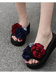 cheap -Women's Shoes EVA Summer Comfort Slippers & Flip-Flops Wedge Heel for Red Pink