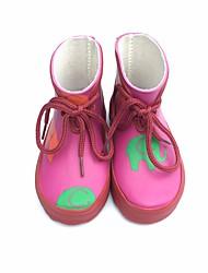 baratos -Para Meninas Para Meninos Sapatos Borracha Inverno Botas de Chuva Botas para Casual Ao ar livre Verde Rosa claro