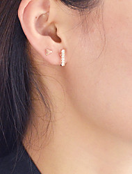 cheap -Stud Earrings - Fashion Gold For Daily / Date / 32pcs