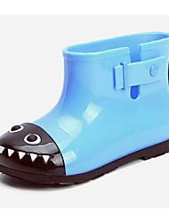 baratos -Para Meninas Para Meninos Sapatos Borracha Primavera Verão Botas de Chuva Botas para Casual Ao ar livre Amarelo Pêssego Azul