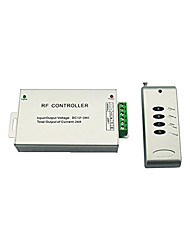 cheap -1pc 12-24 V Smart / Remote Controlled / Strip Light Accessory RGB Controller Aluminum for RGB LED Strip Light