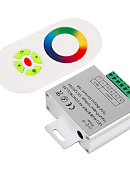 cheap -1pc 12 V / 24 V Smart / WiFi / Remote Controlled RGB Controller Aluminum / Plastic for RGB LED Strip Light