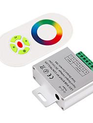 baratos -1pç 12 V / 24 V Smart / sem fio / Controlado remotamente Alumínio / Plástico Controlador RGB para luz de tira conduzida do RGB
