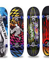 cheap -31 Inch Standard Skateboards Maple City Anti-Slip Black Red Blue Black / Red Blue / White