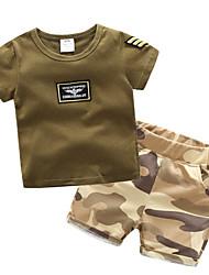 povoljno -dječakova solidna odijska odjeće, vojna zelena pamučna opruga