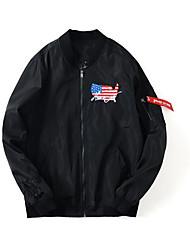 cheap -Men's Casual Jacket-City,Oversized