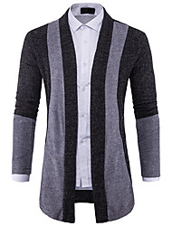 cheap -Men's Active Cardigan - Solid Colored