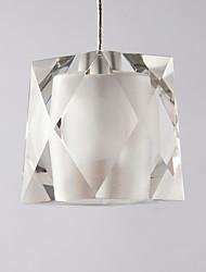 billige -QIHengZhaoMing Geometrisk Vedhæng Lys Baggrundsbelysning - Krystal, 110-120V / 220-240V, Varm Hvid, Pære Inkluderet / G4