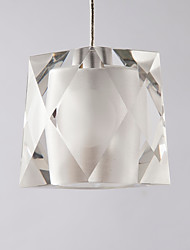 cheap -QIHengZhaoMing Chic & Modern Pendant Light Ambient Light - Crystal, 110-120V 220-240V, Warm White, Bulb Included