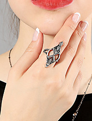 cheap -Alloy Statement Ring - Circle / Geometric Basic / Fashion Silver Ring For Daily / Date