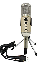cheap -KEBTYVOR MK-F400TL Wired Microphone Sets Condenser Microphone Handheld Microphone For PC, Notebooks and Laptops