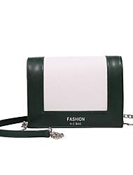 povoljno -Žene Torbe PU Clutch torbica Patent-zatvarač za Kauzalni Sva doba Djetelina Crn Sive boje Kava