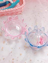 Недорогие -Корона пластик Фавор держатель с Волнообразный Коробочки