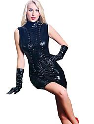 abordables -Collants Costume de Cosplay Costume Zentai Costumes de Cosplay Noir Couleur Pleine Robe Spandex Noël Halloween Carnaval