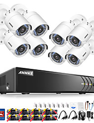 cheap -ANNKE® 8CH 1080P Security Cameras System with 8 Cameras No Hard Drive with 8pcs IP Cameras