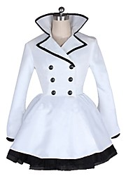 cheap -Inspired by RWBY Weiss Schnee Anime Cosplay Costumes Cosplay Suits Other Long Sleeve Coat / Skirt / Sash / Ribbon For Men's / Women's Halloween Costumes