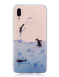 cheap -Case For Huawei P20 lite P20 Pro IMD Transparent Pattern Back Cover Animal Soft TPU for Huawei P20 lite Huawei P20 Pro Huawei P20 P10