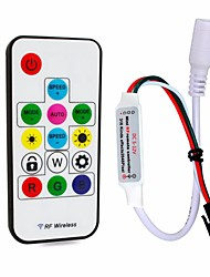 cheap -1pc 12-24 V Remote Controlled / Strip Light Accessory / RF Wireless Controller / RGB Controller Plastic for RGB LED Strip Light