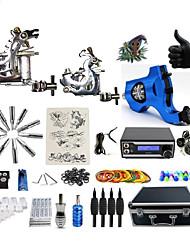 abordables -BaseKey Machine à tatouer Kit de tatouage professionnel - 3 pcs Machines de tatouage, Niveau professionnel / Professionnel / Outils