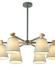 abordables -JLYLITE 6 lumières Lustre Lumière dirigée vers le bas - Style mini, 110-120V / 220-240V Ampoule non incluse / 30-40㎡ / FCC / VDE