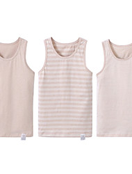 povoljno -dječakov prugasti spremnik&cami, pamučna ljetna smeđa