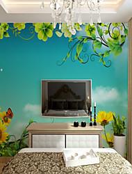 Недорогие -3d на заказ фэнтези сад мультфильм большие настенные покрытия настенные обои подходят спальня кухня дети