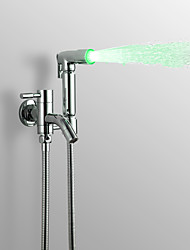 cheap -Contemporary Hand Shower Faucet Light Chrome Feature - Rainfall, Shower Head