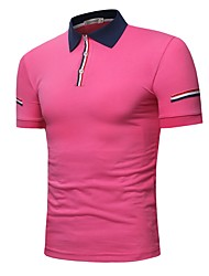 cheap -Men's Business / Active Polo - Color Block