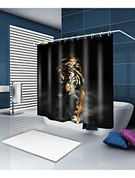 preiswerte -Duschvorhänge & Ringe Moderne Modern Polyester Tier Maschinell gefertigt Wasserfest Bad