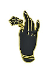 cheap -Brooches - Flower Basic, Fashion Brooch Gold / Silver Hamsa Hand For Daily / Date