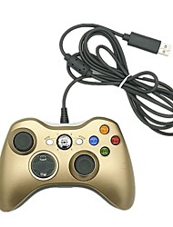 cheap -XboX360 Wired Game Controllers For Xbox 360 PC,ABS Game Controllers Vibration USB 2.0
