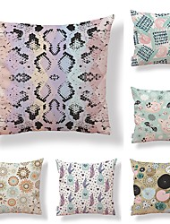 cheap -6 pcs Textile Cotton/Linen Modern/Contemporary, Floral Art Deco Special Design Traditional/Vintage High Quality
