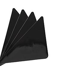 abordables -1set Moderne Tapis Anti-Dérapants Émulsion Nouveauté Carré Moyen Salle de Bain Antidérapant