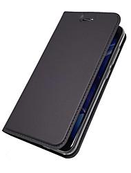 preiswerte -Hülle Für Huawei Nova 2 Plus Nova 2 Kreditkartenfächer mit Halterung Flipbare Hülle Magnetisch Ganzkörper-Gehäuse Solide Hart PU-Leder für