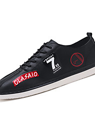 cheap -Men's Tulle / PU(Polyurethane) Summer / Fall Comfort Sneakers Running Shoes / Cycling Shoes / Walking Shoes Color Block White / Black / Red