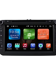 cheap -8inch 2 DIN 1024 x 600 Android6.0 Car DVD Player  for Volkswagen Built-in Bluetooth GPS RDS Touch Screen SD / USB Support Radio 617 AVI