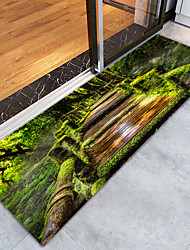 cheap -Creative Sports & Outdoors Country Doormats Area Rugs Bath Mats Flannelette, Superior Quality Rectangle Botanical Graphic Rug