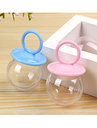 abordables -Sphère Résine Plastique Titulaire de Faveur avec Bonnet Boîtes à cadeaux