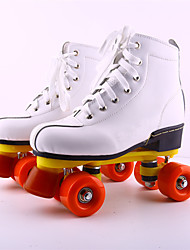 cheap -Adults' Roller Skates Breathable Shock Absorption Lightweight White