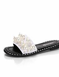 Mujer Zapatos Ante / Malla Otoño invierno Confort Zapatillas de Atletismo Fitness Tacón Cuña Dedo redondo Negro y Plateado / Anaranjado y Negro 0WgKYb2W0N