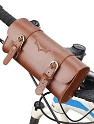abordables -Sac de Vélo Sacoche de Guidon de Vélo Vestimentaire Voyage Téléphone / Iphone Pour tous les jours Sac de Cyclisme Cuir Sacoche de Vélo