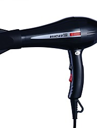 baratos -Factory OEM Secador de cabelo para Homens e Mulheres 220 V Temperatura Ajustável / Luz de indicador de funcionamento / Design Portátil / Regulação da velocidade do vento
