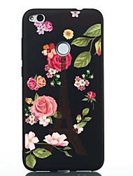 billige -Etui Til Huawei P20 lite P20 Mønster Bagcover Blomst Blødt TPU for Huawei P20 lite Huawei P20 P10 Lite P10 Huawei P9 Lite P8 Lite (2017)