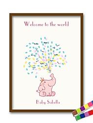 Недорогие -Рамы с местом для подписей Прочее Классика / Рождение ребенка / Урожай Theme С Узоры / принт