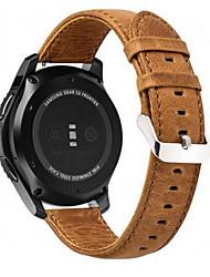 Недорогие -Ремешок для часов для Gear S3 Frontier / Gear S3 Classic / Gear S3 Classic LTE Samsung Galaxy Современная застежка Натуральная кожа Повязка на запястье
